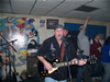 Greg with is gibson classic and singing